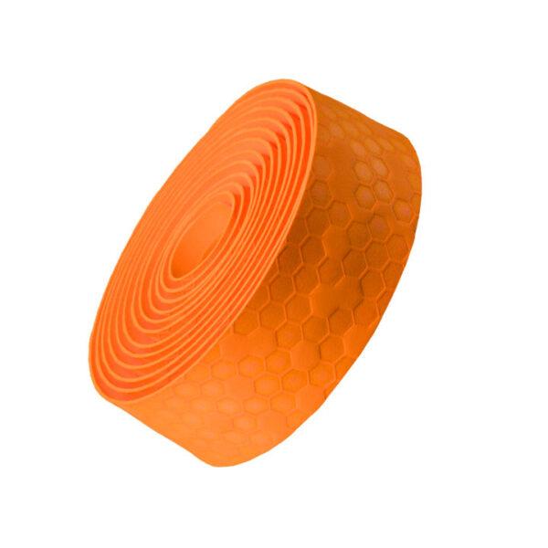 Owijka do kierownic z korka żelowego Bontrager pomarańczowa Catalyst Orange