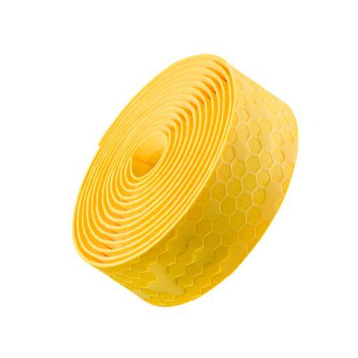 Owijka na kierownicę z korka żelowego Bontrager żółta Tour