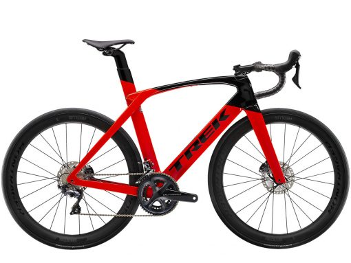 ROWER TREK MADONE SL 6 DISC Radioactive Red:Trek Black