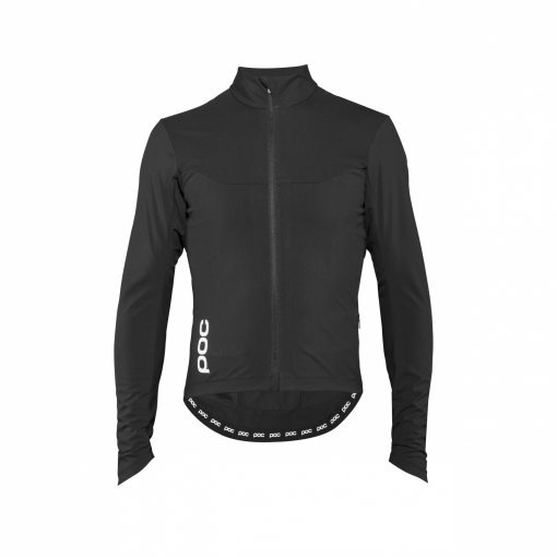 BLUZA POC ESSENTIAL ROAD WINDPROOF JERSEY Black
